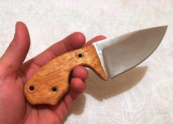 Пример рукояти ножа из мовингу