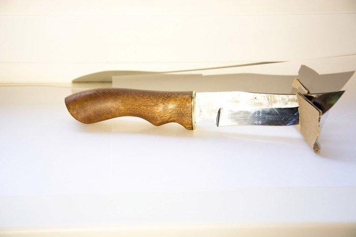 Пример изделия из древесины сапеле
