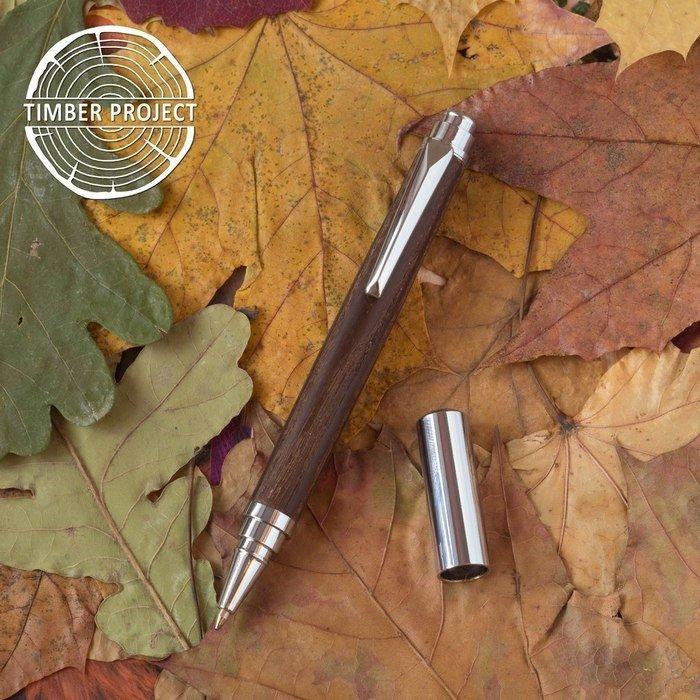 Пример ручки из древесины термообработанного ясеня