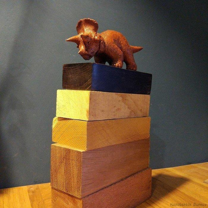 Пример изделия из древесины ятобы