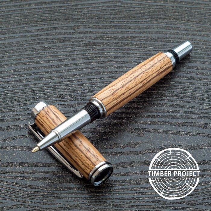 Пример корпуса ручки из зебрано