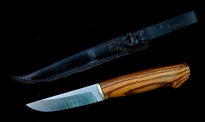 Пример работы из древесины зебрано