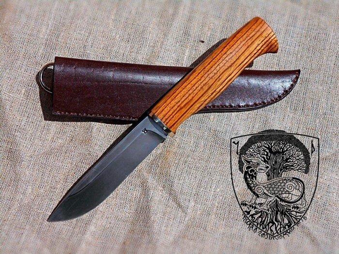 Пример изделия с использованием древесины зебрано