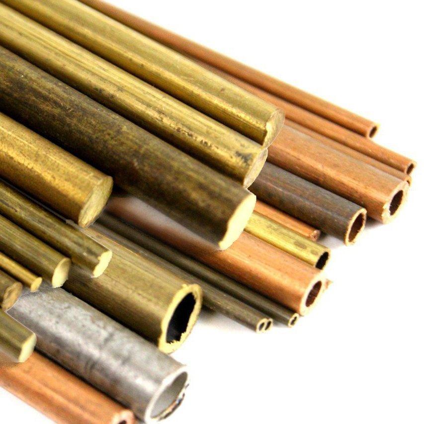 трубки и стержни из цветных металлов