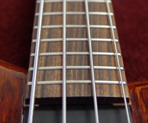 накладка на гриф бас-гитары из древесины амазаку