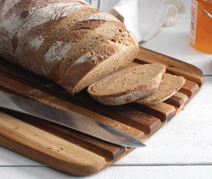 хлебная доска из натурального дерева