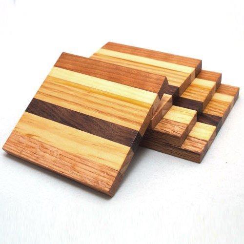 деревянные подставки для напитков