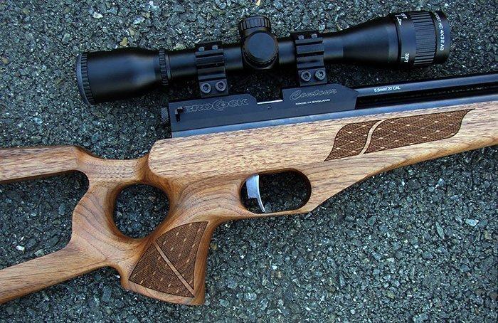 ложе винтовки из древесины