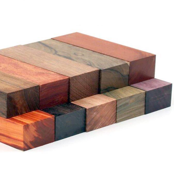 деревянные заготовки под рукоятки ножей