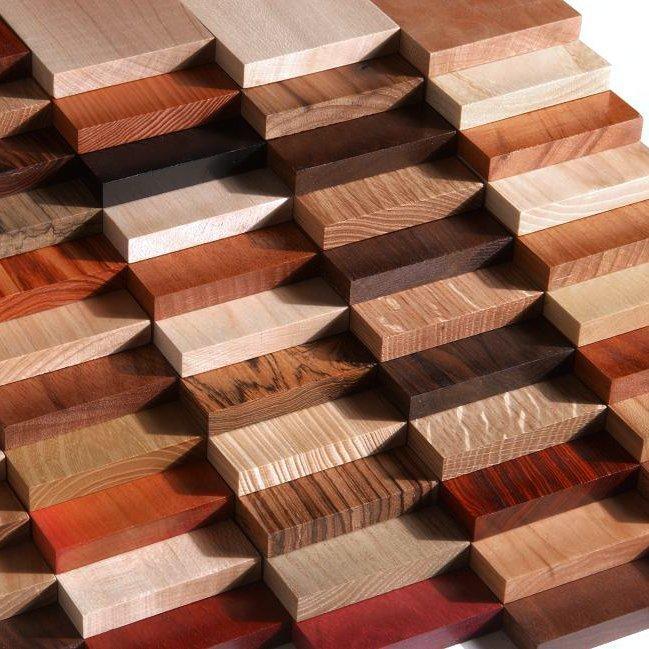 плашки древесины для накладной рукояти ножа