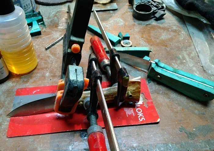 изготовление ножа в домашних условиях