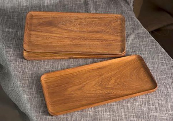 подносы из древесины афзелии пахилобы
