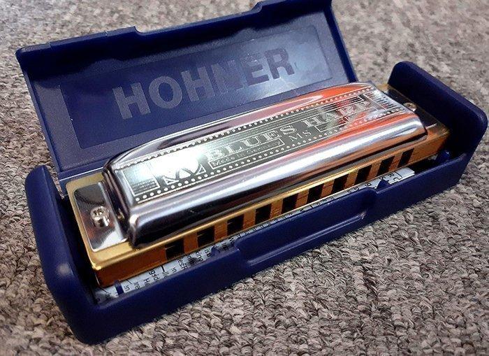 губная гармошка hohner с древесиной афзелия дусси
