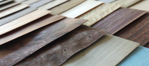 листы натурального шпона