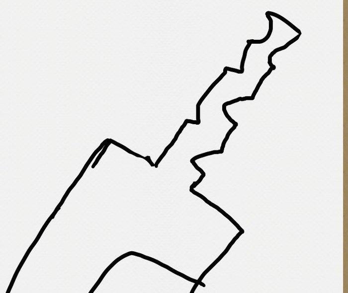 Засечки на хвостовике клинка