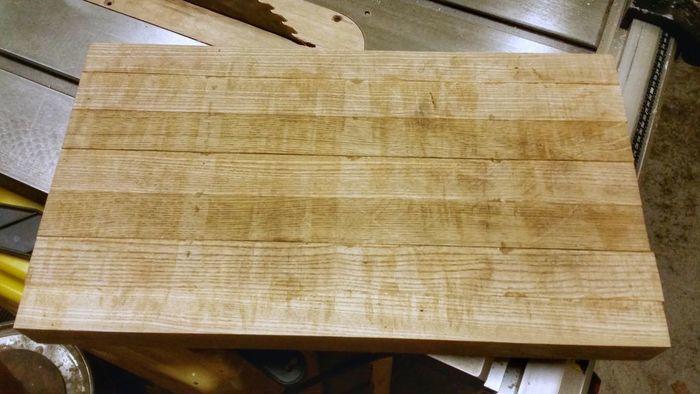Выравнивание деревянного щита