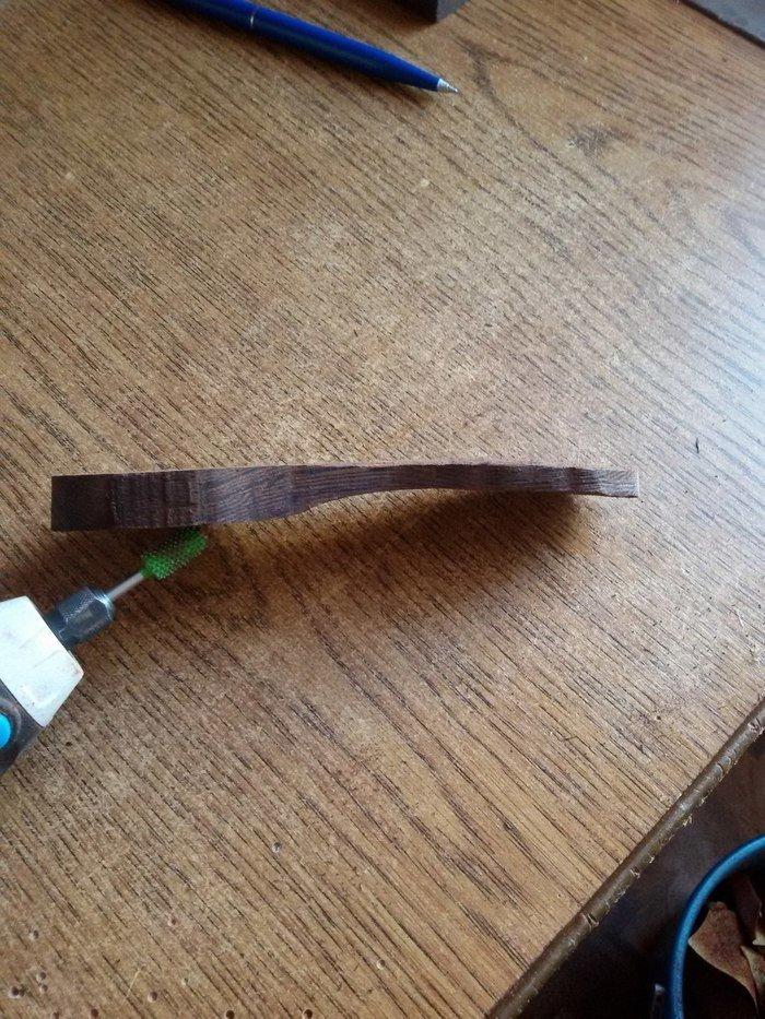 Заготовка деревянной ложки