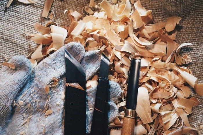 Резцы для изготовления деревянной ложки