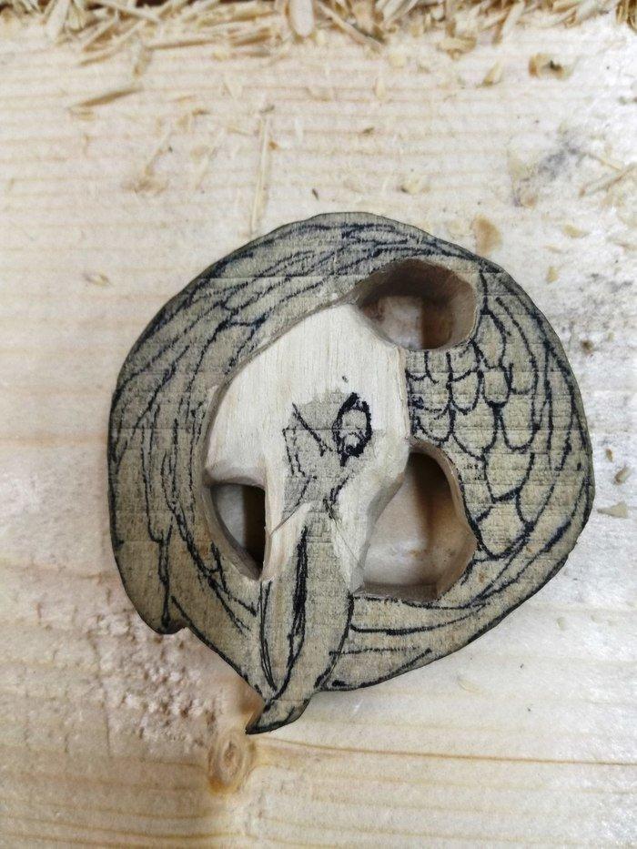 Резьба по древесине белого граба