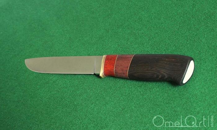 Нож с составной рукоятью