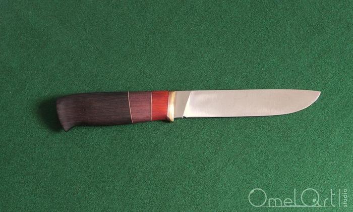 Готовый нож с составной рукоятью