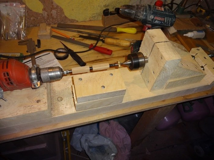 Растачивание деревянных заготовок на токарном станке