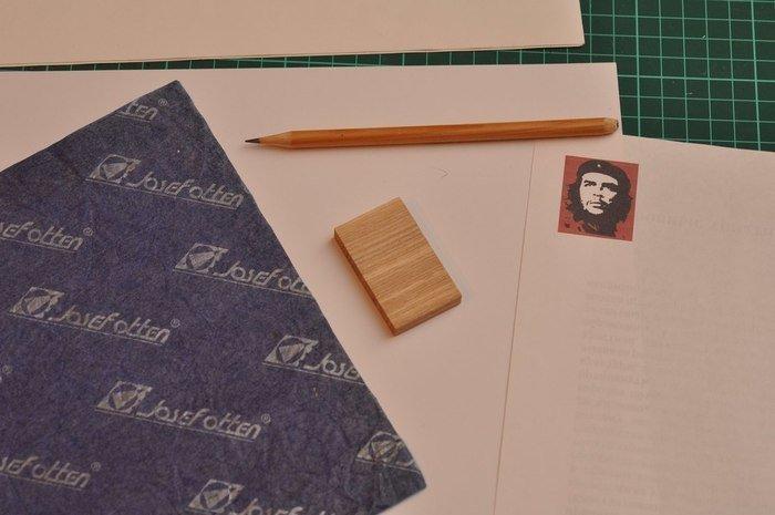 Перевод эскиза на деревянную заготовку