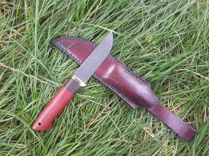 Готовый нож и ножны