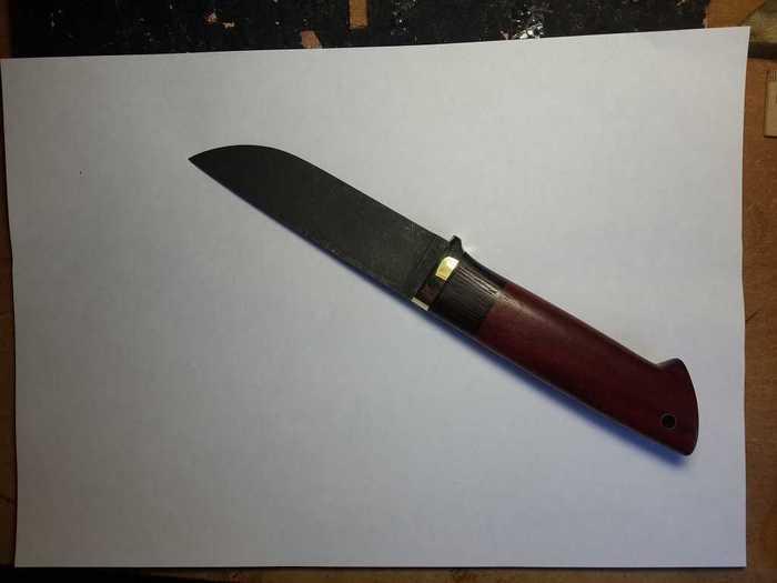 Рисование эксиза для ножен