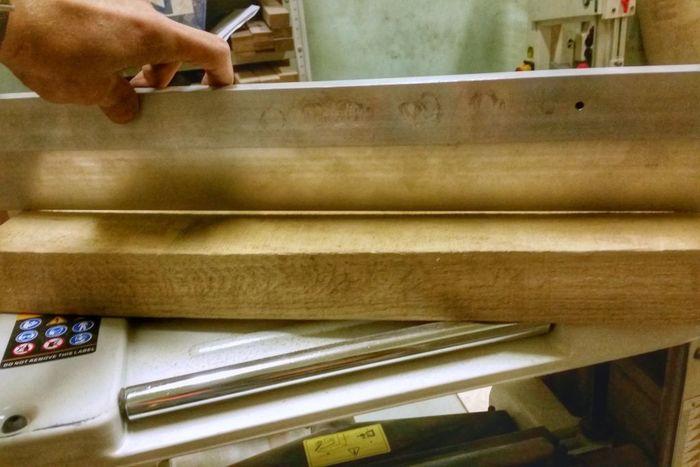 Искривление деревянной доски