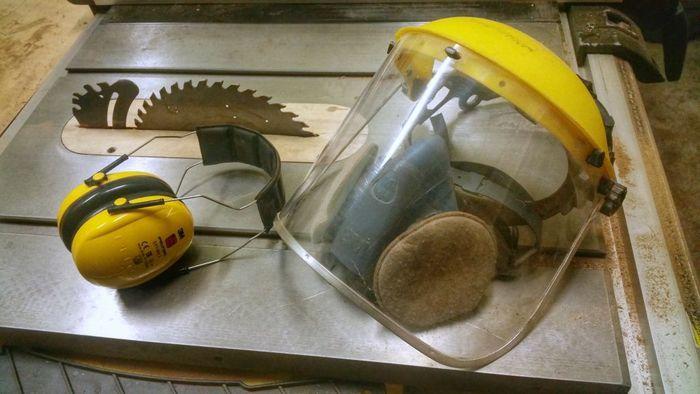 Средства индивидуальной защиты при работе с древесиной