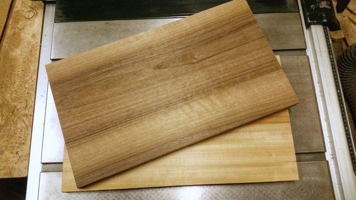 Цельноламельные клееные щиты из древесины