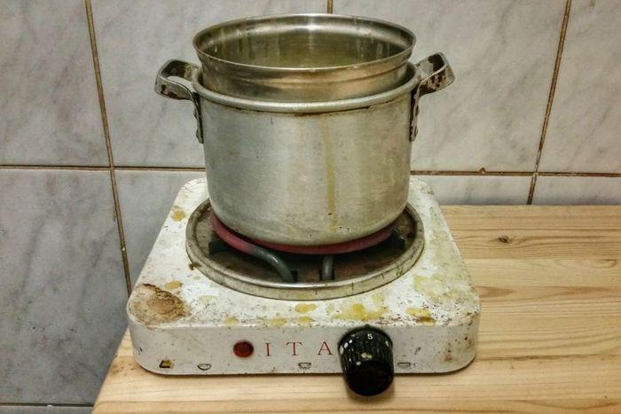 Кастрюли для водяной бани