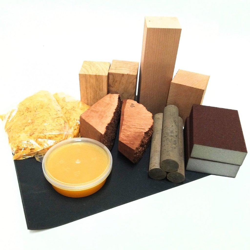 материалы и инструменты для изготовления курительных трубок