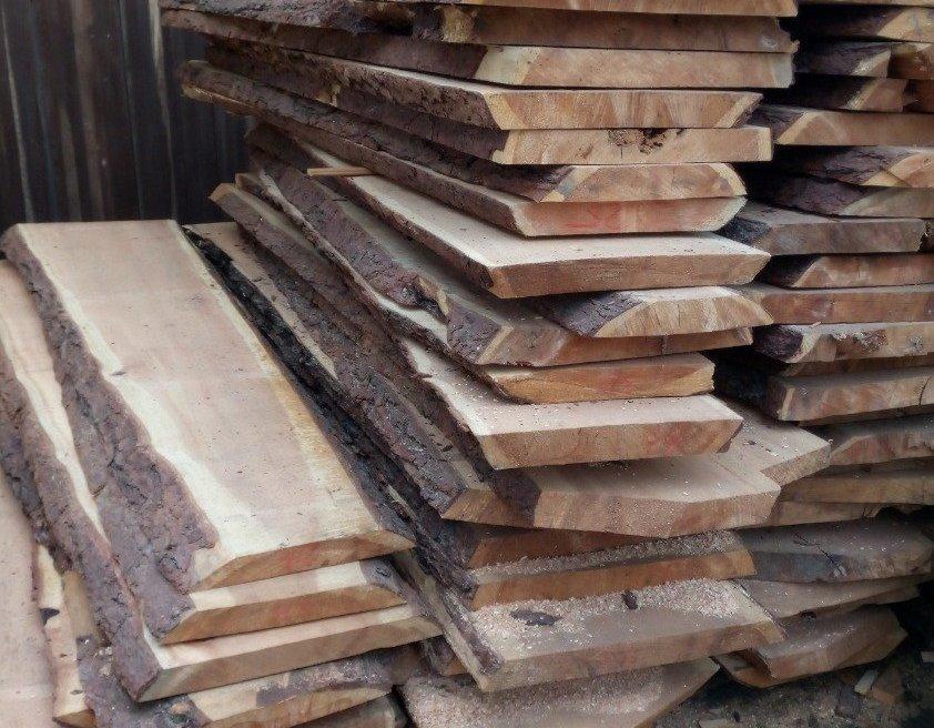 Хранение древесины кедра