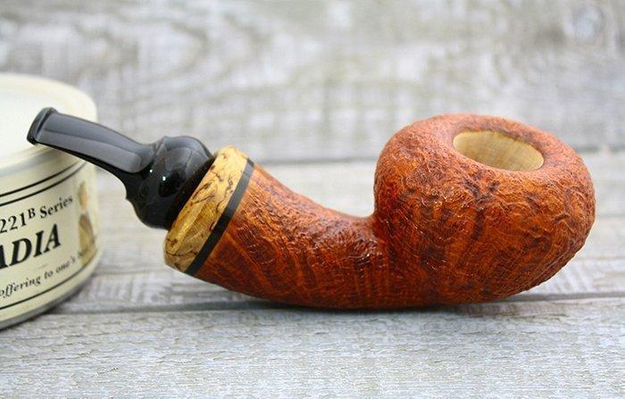 Курительная трубка со стаммелем из бриара
