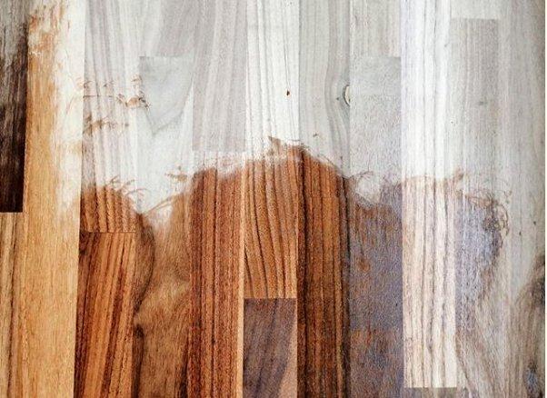 Покрытие деревянной поверхности датским маслом от Rustins