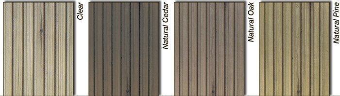 Цветовая палитра масел Rustins Decking Oil