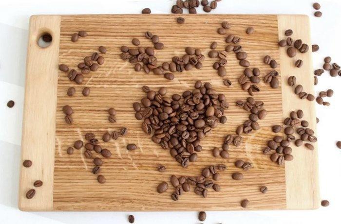 доска для подачи из древесины дуба и березы